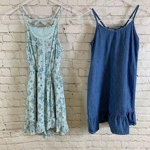 Two Girls Children's Place Summer Dresses Sz M 7/8